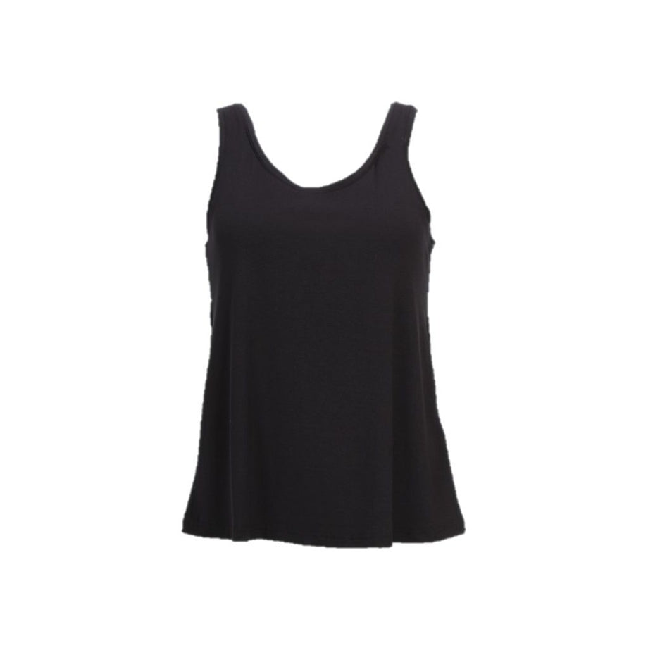Isay Louis Tank Top Tops 900 Black