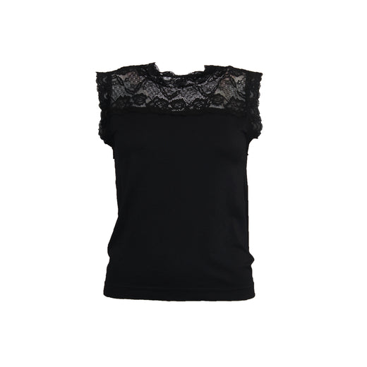 I SAY Nilla Highneck Top Tops 900 Black