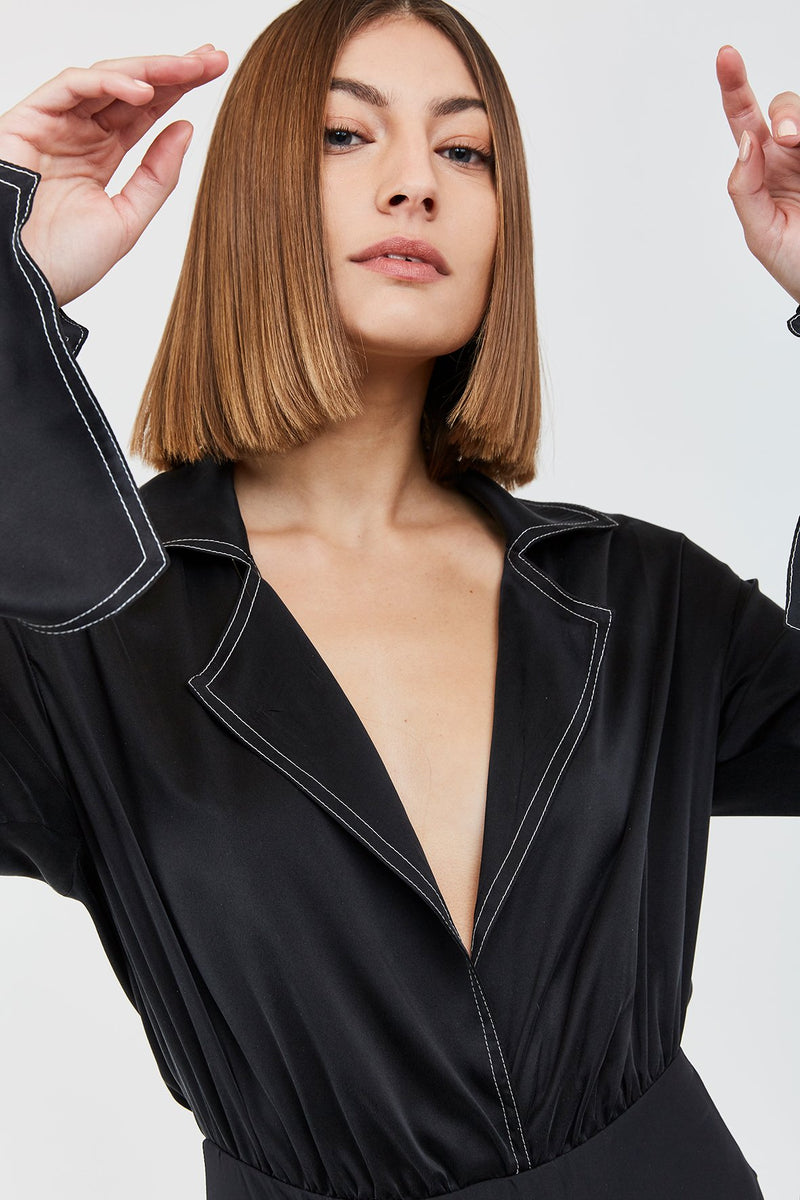 Galen Bodysuit - Black