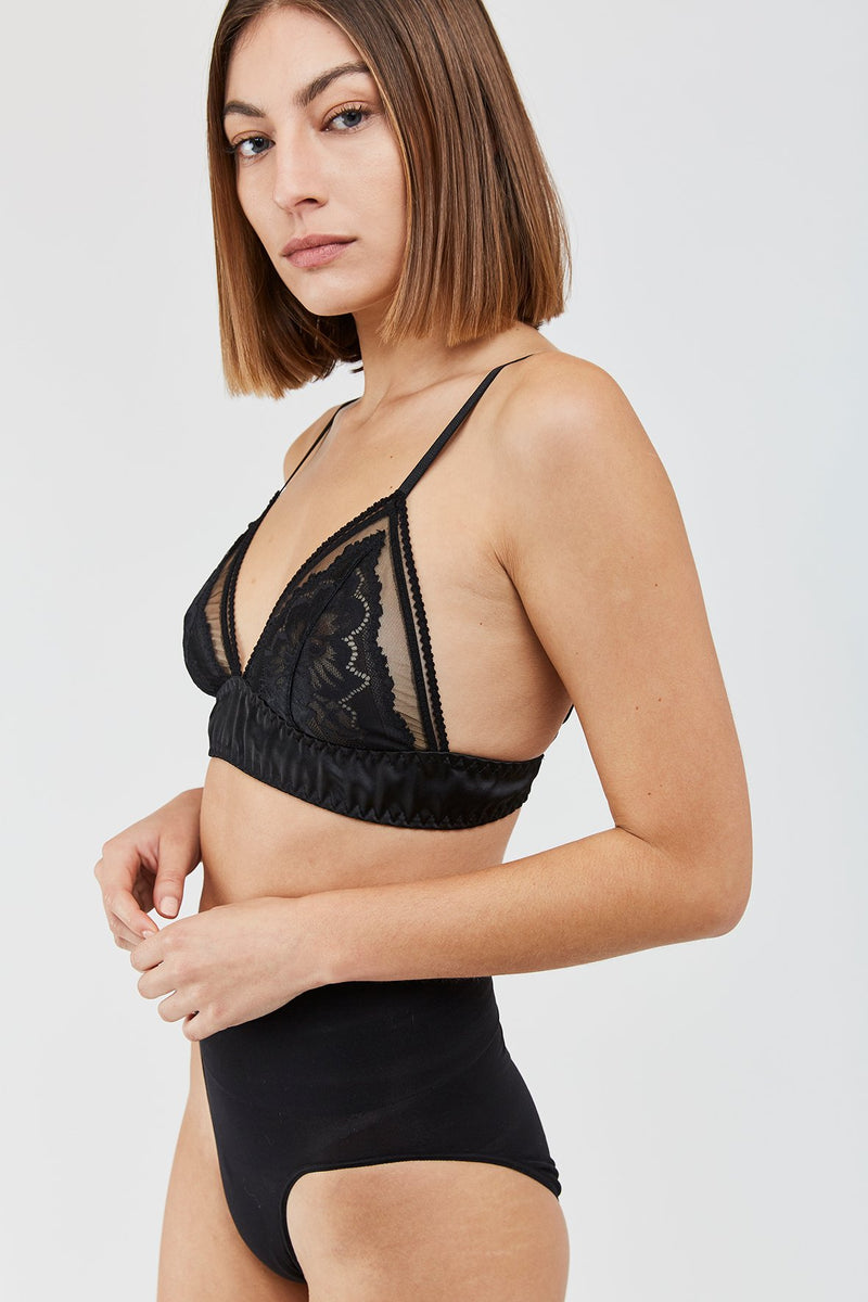 JIL B Soft Bra - Black