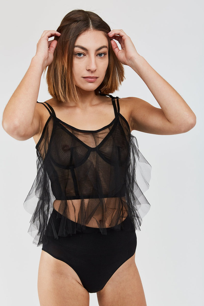 Amellie Tulle Camisole