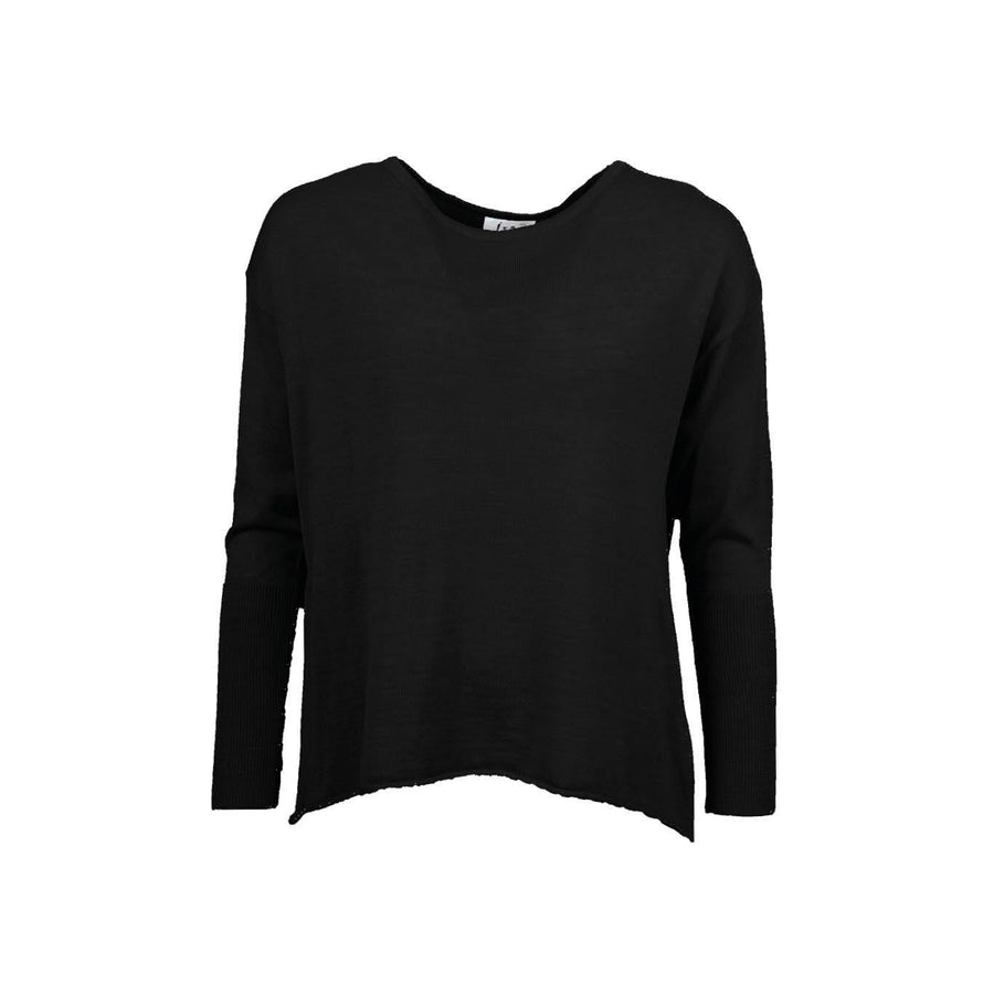 Dina Knit Pullover - Black