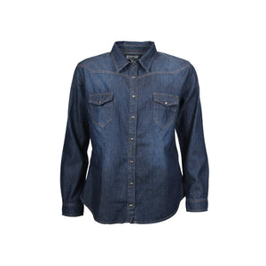 Diva Shirt - Dark denim