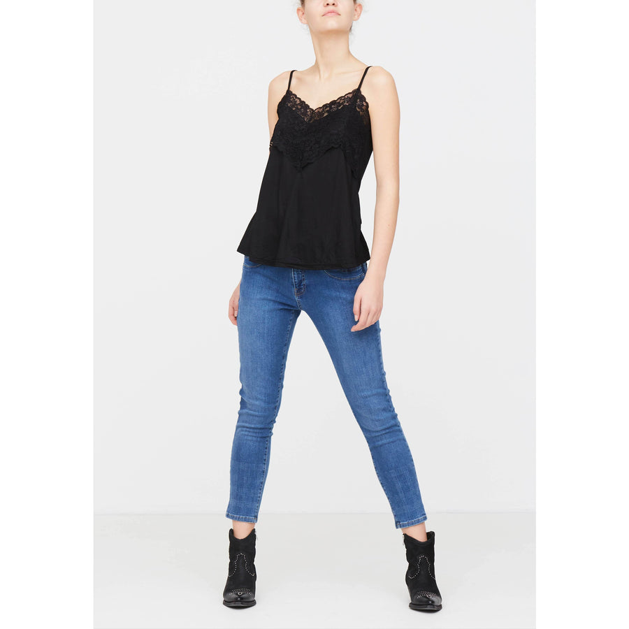 Nugga Lace Top - Black