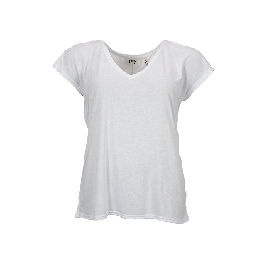 Nugga V-Neck T-Shirt - White