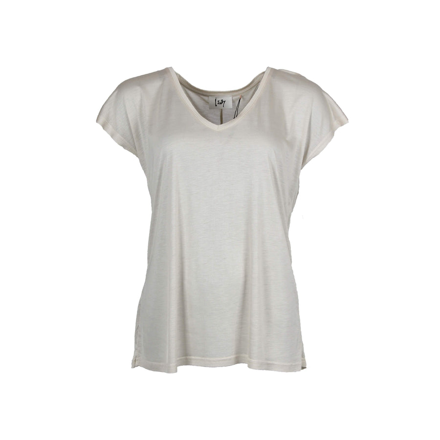 Nugga V-Neck T-Shirt - Sand