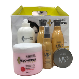 Makarizo Rebonding Kit - Untreated Hair