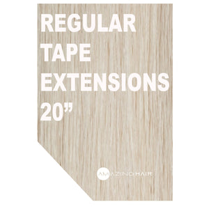 Amazing Hair Tape Extensions - Regular 20""