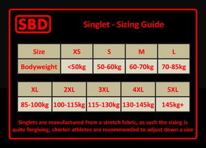 SBD Singlet (Limitierte Winter Edition)