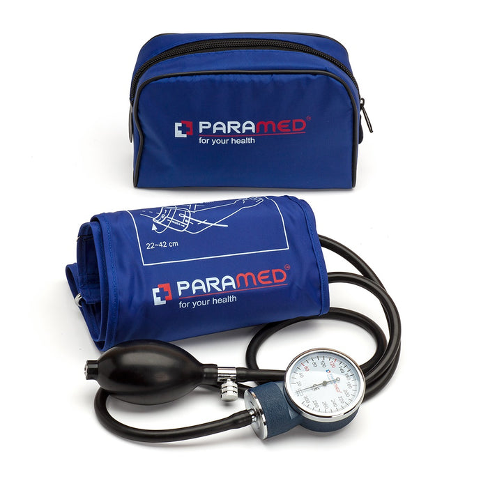 Manual Blood Pressure Cuff - Dark Blue
