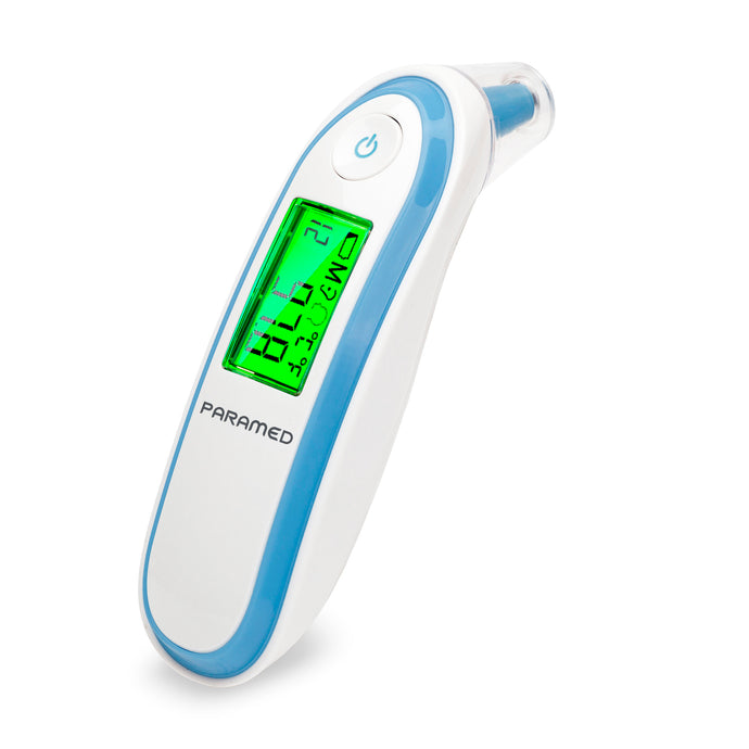 Digital Forehead and Ear Thermometer by Paramed