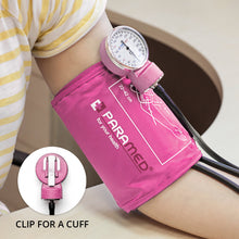 Load image into Gallery viewer, Manual Blood Pressure Cuff - Pink