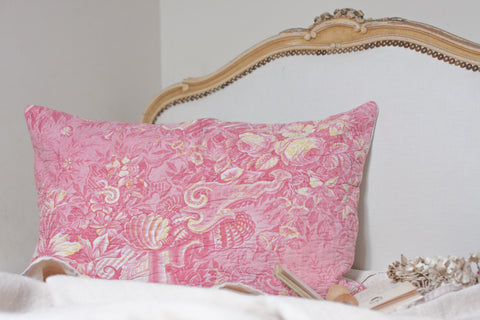 Grand Coussin Boutis ancien