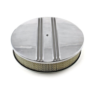 "Air Cleaner, 14"" Classic Finned / Luftrenare"
