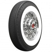 Tires, set of 4 White Walls by American Classic 670R15 / DÄCK, Vita Väggar