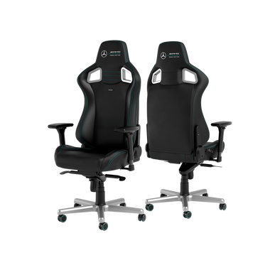 Noblechairs EPIC SERIES - Mercedes-AMG Petronas F1 Team SPECIAL EDITION 人體工學高背電競椅 (免安裝費)(4月尾到貨)