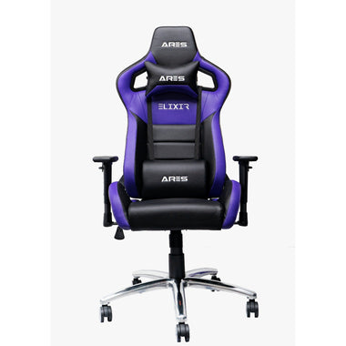 Ares ELIXIR Series Gaming Chair (代理有貨)(黑紫缺貨)