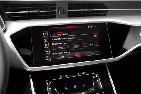 Audi APS+ Parkeringssensorer for/bag A6 4A