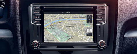VW Discover Media Navigation m/patch
