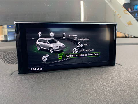 Audi Smartphone aktivering, MMI High