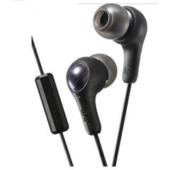 JVC HA-FX71M In Ear Earphone with Microphone (Black)