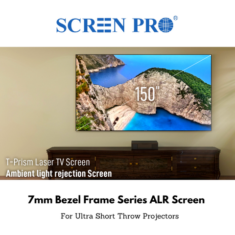 SCREENPRO ALR Fixed Frame Screen - Ambient Light Rejection
