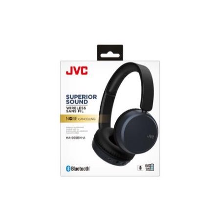 JVC HA-S65BN Wireless Bluetooth Noise Cancellation Headphone (Blue)