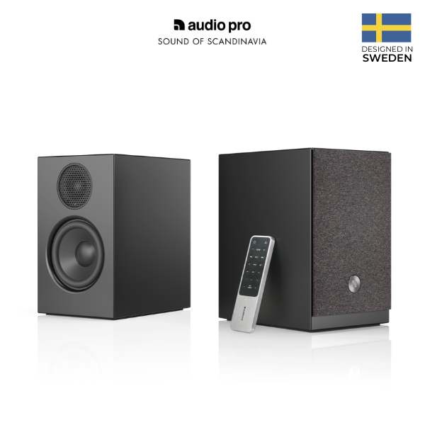 Audio Pro A26 Wireless Multiroom Bookshelf Speaker (WiFi/Bluetooth)