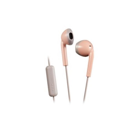 JVC HA-F19M In Ear Earbud with Mic (Pink)