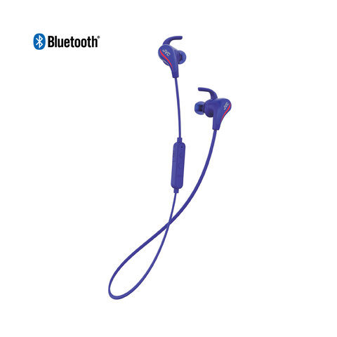 JVC HA-ET50BT Wireless Sweat Resistant Sport Earphone (Blue)