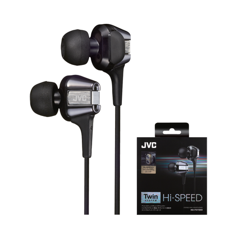 JVC HA-FXT200 Twin Dynamic Driver Audiophile Earphone