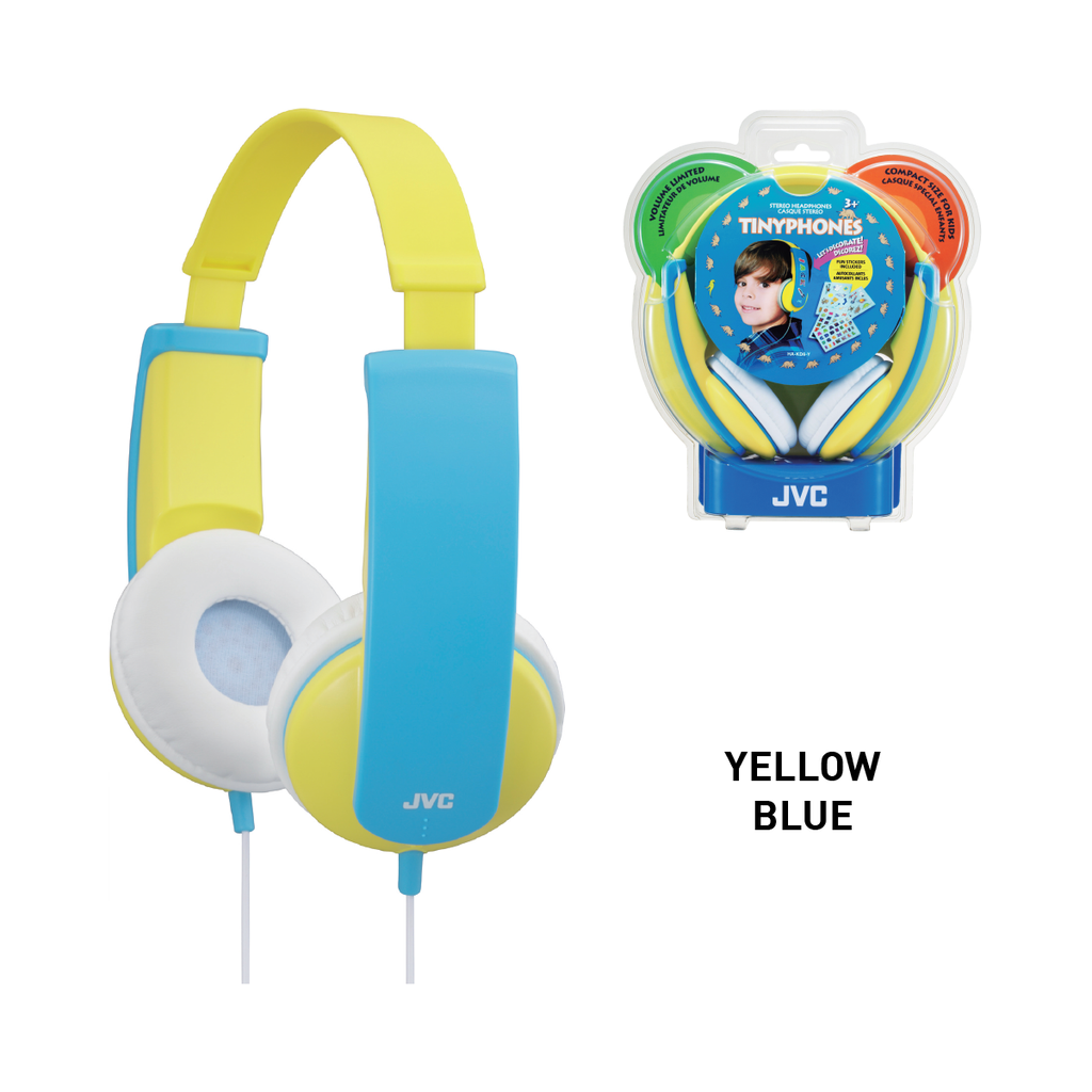 JVC HA-KD7 Kids Headphone with Volume Limiter