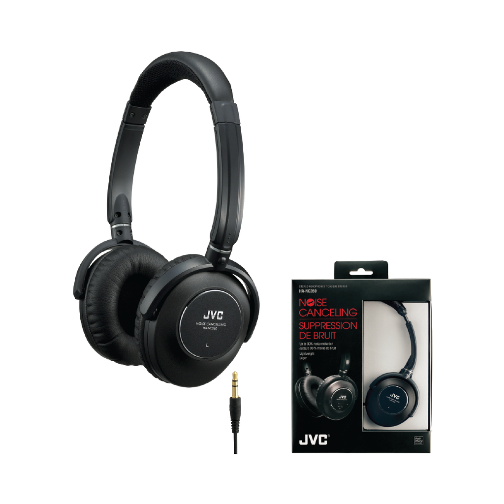 JVC HA-NC260 Active Noise Cancellation Headphone