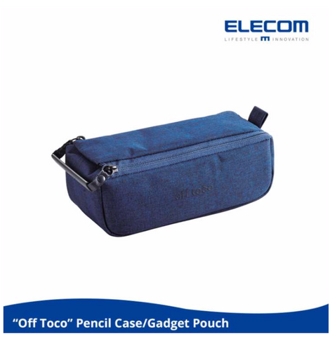 ELECOM 'OFF TOCO OF01 POUCH' Gadget Pouch (Blue)