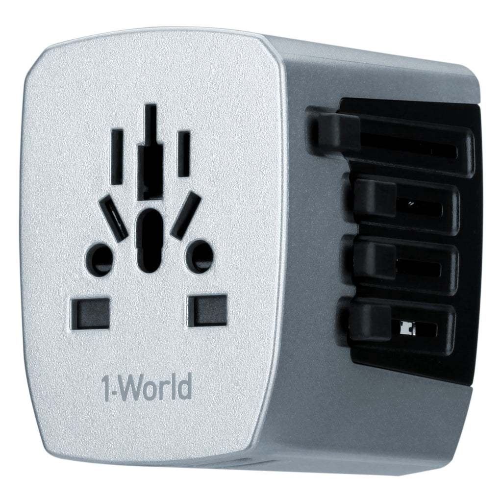 MOMAX UA3  1-World 4 USB AC Travel Adapter