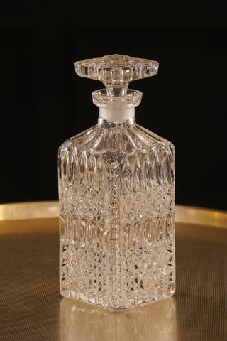 Cut Glass Vintage Decanter