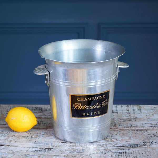 Bricout & Cie Silver Metal Champagne Bucket