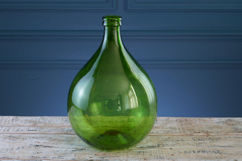 Small Green Glass Carboy