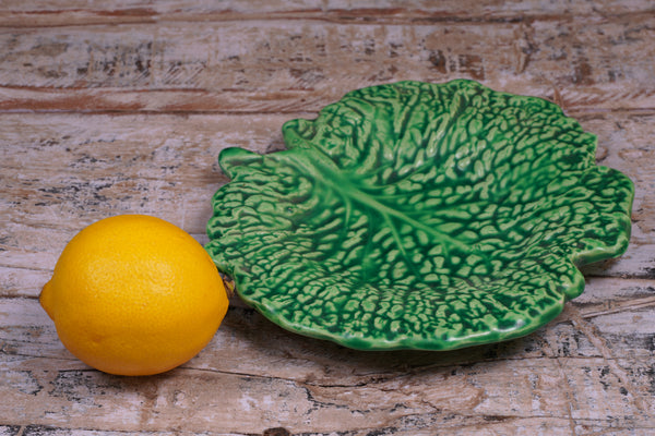 Cabbage Leaf Serving Platter