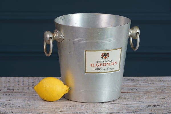 H. Germain Metal Champagne Bucket