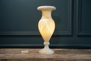 Vase Shaped Alabaster Table Light