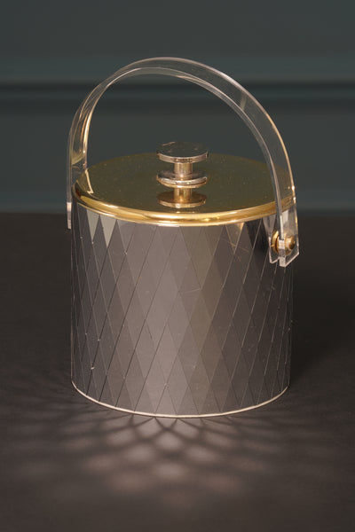 1970's West German Mirrored Ice Bucket
