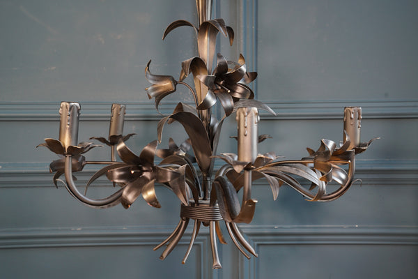 Matte Black Wheatsheaf Ceiling Light