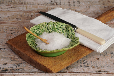 Mini Green Round Cabbage Serving Bowl
