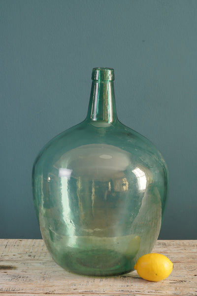 Green Glass Carboy
