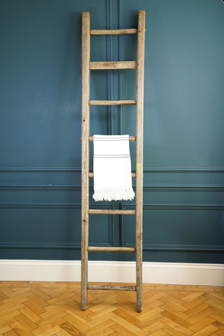 Eight Rung Wooden Ladder