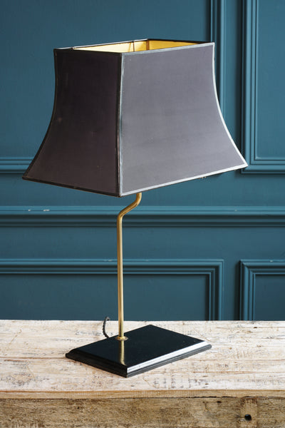 Black and Gold Table Light