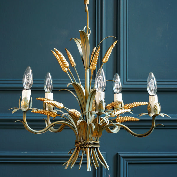 Original Wheatsheaf Chandelier