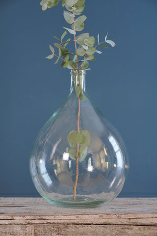 Pale Green Glass Carboy