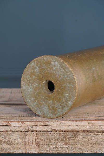 Large Brass Shell